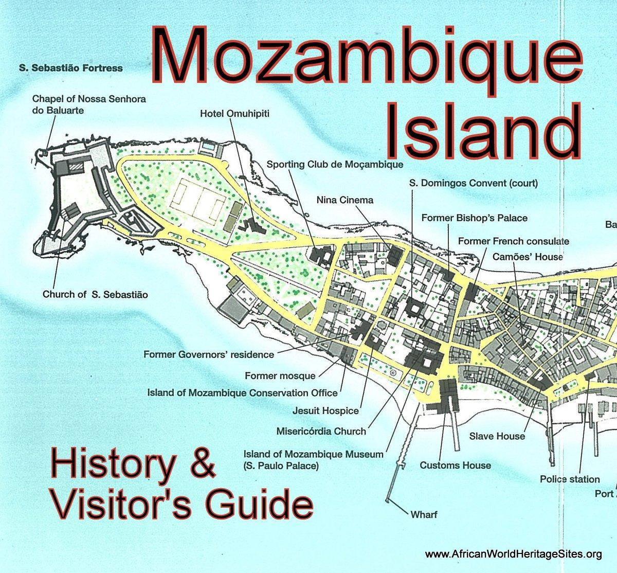 map of Mozambique island
